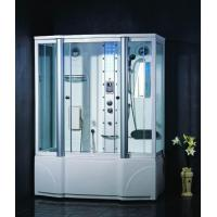 China 3807 Rectangle steam shower room with jacuzzi on sale