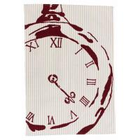 Best Kitchen & Dining BECKY BROOME POCKET WATCH TEA TOWEL BEIGE & RED ENGLISH DESIGNER QUALITY wholesale
