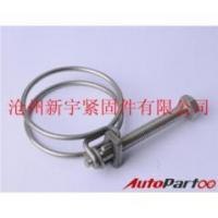 Best double wires hose clamp galvanzied or stainless steel wholesale