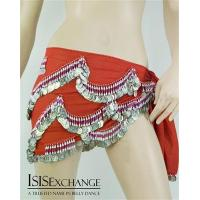 Buy cheap Red Egyptian Belly Dance Hip Scarf from wholesalers