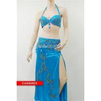 Best Belly Dance Costume In Metallic Turquoise wholesale