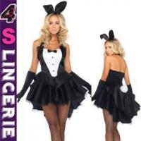 Best Sexy Costume Fashionable Design Deluxe Sexy Bunny Costume Wholesale From Guangzhou, China wholesale