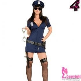 Cheap Sexy Costume Factory Supply Wholesale Price Hot Sexy Police Costume For Female for sale