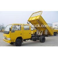 Best 1ton DAFC double row cabin small dumper wholesale