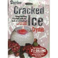 Cracked Ice Floral Gel Crystals