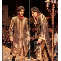 Buy cheap Chocolate Brown Colored Celebrity Sherwani product