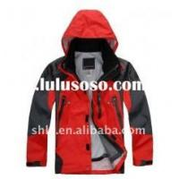 Buy cheap Black And Red Varsity Jackets product