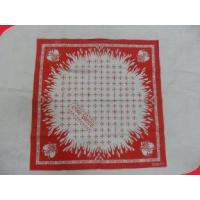 China Water Absorbing Silkscreen Printing Personalized Handkerchief for Personal Hygiene on sale