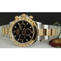 ROLEX Rolex 2-Tone Daytona Black Dial Watch