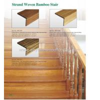 China Strand Woven Bamboo Stair Tread and Riser on sale