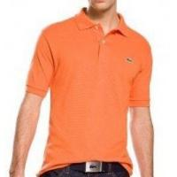 Best Lacoste Polo Shirts - Mens Home Lacoste Man Polo Shirt - Orange wholesale