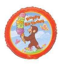 "Cheap Curious George Party 18"" Happy Birthday Foil Balloon for sale"