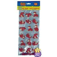 Cheap Curious George Party Printed Cellophane Bags 20 Pack for sale