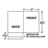 China Card Holders 3 x 4 1/4 Right Pocket Gift/Key Card Holder on sale
