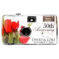 Best Anniversary Cameras Personalized Red Rose Anniversary Camera wholesale