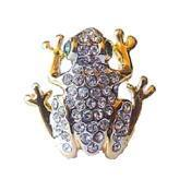 Buy cheap Resting Frog Pin Toad Brooch from wholesalers