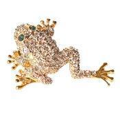 Buy cheap Leaping Frog Pin Toad Brooch from wholesalers