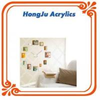 Best clear acrylic wall clock wholesale