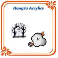 Best fashionable clear acrylic wall clock wholesale