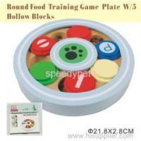 Buy cheap Round food training game W/5 hollow blocks from wholesalers