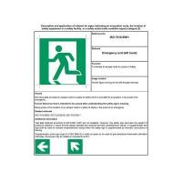 Best English safety sign E-001 wholesale
