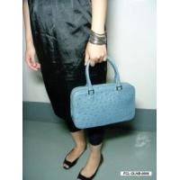 Buy cheap GENUINE OSTRICH HANDBAG (Baby Blue) from wholesalers