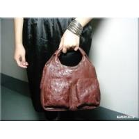 Buy cheap GENUINE OSTRICH HANDBAG (Chocolate) from wholesalers