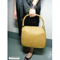 Buy cheap GENUINE OSTRICH HANDBAG (Sun Yellow) from wholesalers