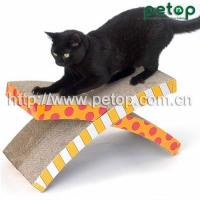 Best Cat Scratcher PT1008 Good Selling Shaped Cat Scratcher Lounge Bed wholesale