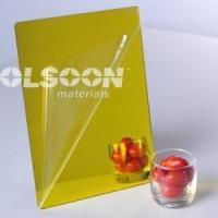 Cheap Acrylic Glass Sheets Yellow for sale