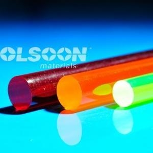 China Transparent Color Acrylic Rod