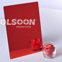 Cheap Red Plexiglass Sheets for sale
