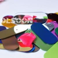 Buy cheap Colour Thin Plastic Mirror Sheets from wholesalers