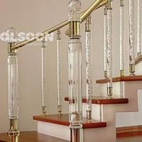 Best Clear Acrylic bubble rod for stair wholesale