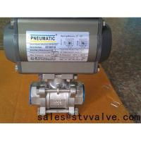 Buy cheap Control ball valve Pneumatic ball valve from wholesalers