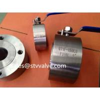 Buy cheap Forged steel ball valve ANSI/API Wafer Forged Ball Valve from wholesalers