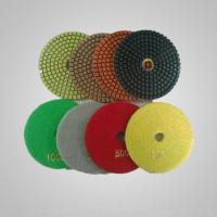 China Wet concrete polishing pads on sale