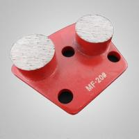 Buy cheap Concrete metal pads from wholesalers