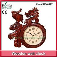 Buy cheap WK8027Wholesale traditional dragon and phoenix carving chinese clock from wholesalers