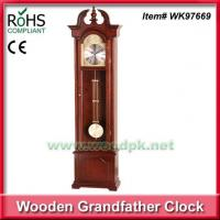 Buy cheap WK9766939.2x149cm Wedding gift antique wooden quartz grandfather clocks from wholesalers