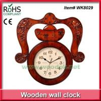 Buy cheap WK8029Wood art sculpture china clock from wholesalers