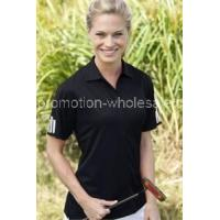 Best Women's ClimaLite3-Stripes Cuff Polo wholesale