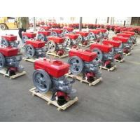 China 12 horse power single cylinder 4 stroke diesel engine swirl combustion system S195 on sale
