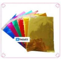 China Colored aluminum foil paper on sale