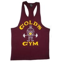 China Factory price custom logo t back gym singlet on sale