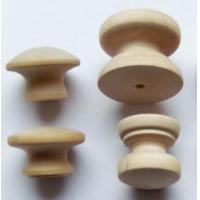 Buy cheap wooden cabinet door small wooden knobs from wholesalers