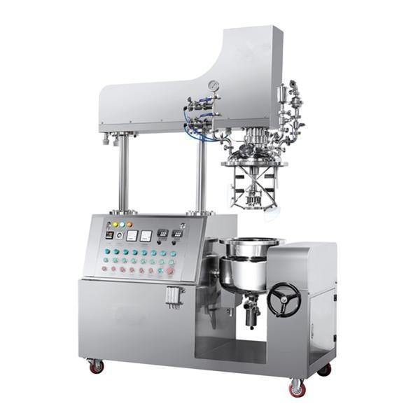 Cheap Blemish Balm Cream Making Machine High Shear Vacuum Homogenous Emulsifier for Cosmetic Lotion for sale