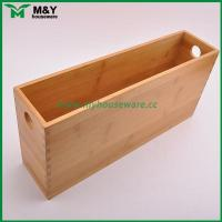 Best MY2-6031 Bamboo Storage Organizer with Handle wholesale