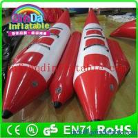 Buy cheap Team water sports summer hot floating fly fish inflatable banana boat for sale from wholesalers