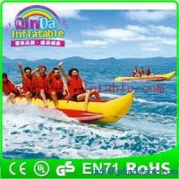 Buy cheap Summer Water Sports Banana Boat/cheap Inflatable Banana Boat for sale from wholesalers